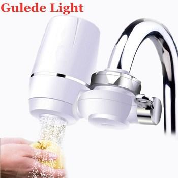 Woda z kranu filtr filtr do wody kuchnia oczyszczacz filtr wody zmywalny ceramiczny filtr Percolator filtr wody odrdzewianie bakterii tanie i dobre opinie Gulede Light Montowany na baterii PREFILTR CN (pochodzenie)