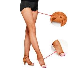 Sexy mulher fishnet collants malha meia-calça dedo do pé aberto strumpfhose dança latina collant femme dançarina tentação calzas