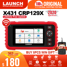 起動X431 CRP129X OBD2スキャナー自動コードリーダーOBD診断ツールABSエンジンSRSオイルSAS TMPS自動車ツールPK CRP129E