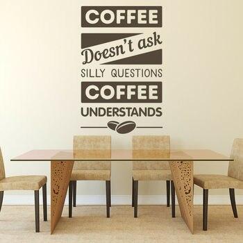 Café pared calcomanía comida beber cercanas arte Mural pegatina de vinilo para ventana cafetería café restaurante creativo decoración Interior M844