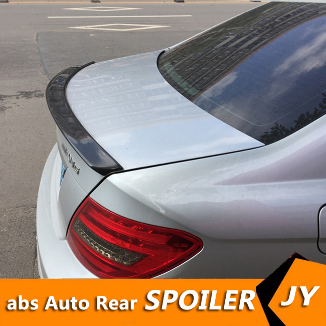 For <font><b>Mercedes</b></font> <font><b>Benz</b></font> <font><b>W204</b></font> <font><b>Spoiler</b></font> 2008-15 C180/C200/C230 <font><b>C</b></font>-<font><b>class</b></font> <font><b>spoiler</b></font> High Quality Carbon Fiber Car Rear Wing Color Rear <font><b>Spoiler</b></font> image