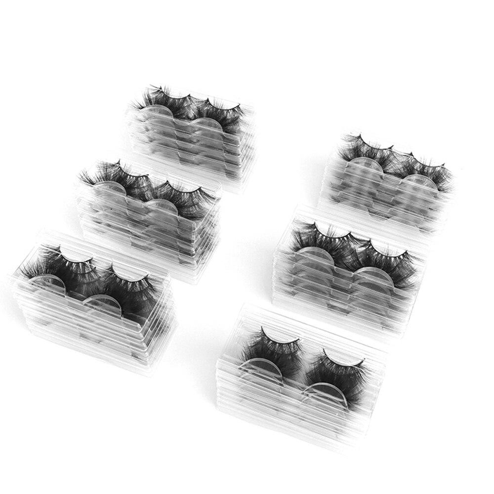 Новинка 10 пар искусственные норковые волосы Накладные ресницы