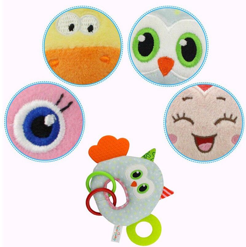 Happy Monkey Bark Gum BB Dolls Baby Toys Newborns Plush Hand Bell Toys High Quality