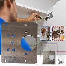 Набор для ремонта петель для кухонных шкафов, комплект для ремонта боковых панелей шкафов, дверных петель
