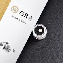 Luźny moissanit 1ct 6 5mm GH kolor wysokiej jakości Lab diament DIY materiał okrągły Brilliant Cut biżuteria bransoletka tanie tanio AWSM WHITE VVS1 Excellent none 1 carat Grzywny Moissanite