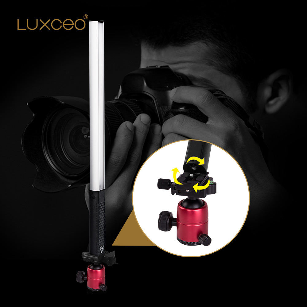 Купить с кэшбэком Remote Control Photography Lights 1000lm Vedio Shooting Bar Waterproof USB Rechargeable Emergency Portable Lantern Camping Light