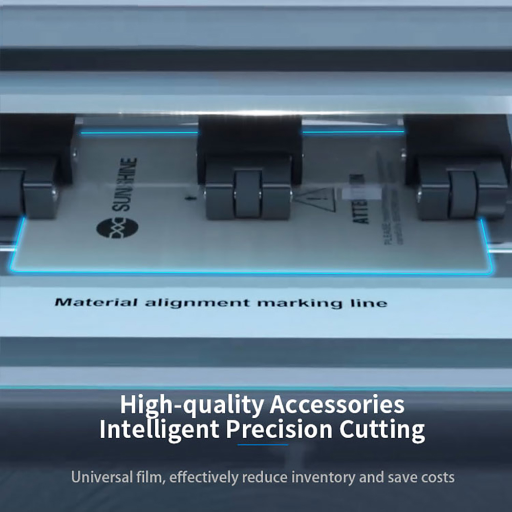 Image 4 - SS 890C smart laser precision cutting machine  for mobile phone LCD screen protect Water coagulation membrane cutting ToolPower Tool Sets   -