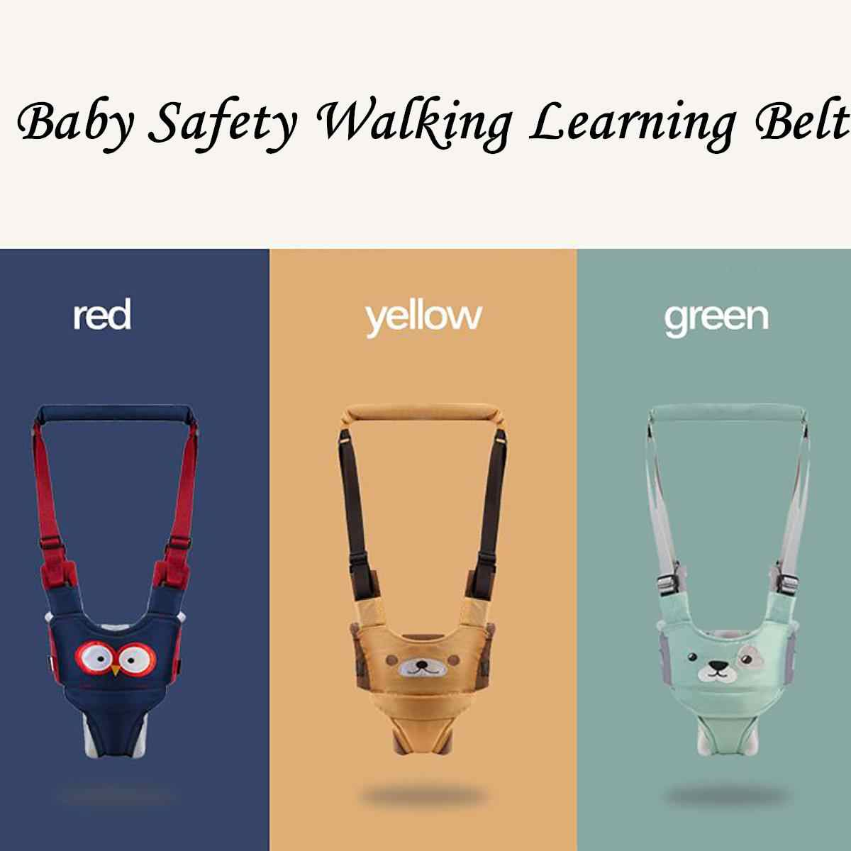 3 types Cotton Toddler Baby Harness Safety Walking Assistant Learning Walk Safety Belt Harness Walker Wings Kid Boy Girl Leashes