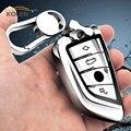 Мягкий ТПУ чехол для автомобильного ключа с дистанционным управлением чехол для BMW X5 F15 X6 F16 1 2 3 5 7 серии F45 F46 G30 G11 G12 G20 держатель оболочка аксе...