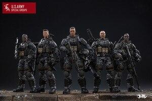 Image 2 - شخصيات الحركة الجديدة من JOYTOY موديل 1/18 لنموذج فيلق الجيش الأمريكي هدية عيد الميلاد/الإجازات شحن مجاني