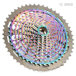 MTB 12 11-speed 9-50T Кассетная лента Ultimate XD Кассетная лента Радуга 375 г Кассетная лента ультра-светильник 12s велосипед свободного хода