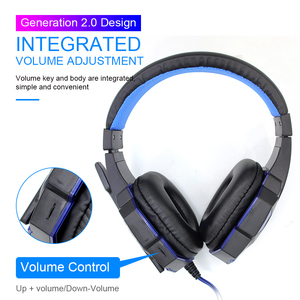 Image 3 - Professional Led Light Bass Gamer Wired Headset With Microphone For Switch PS4 Computer Gaming Over Ear Headphones For XBox PC