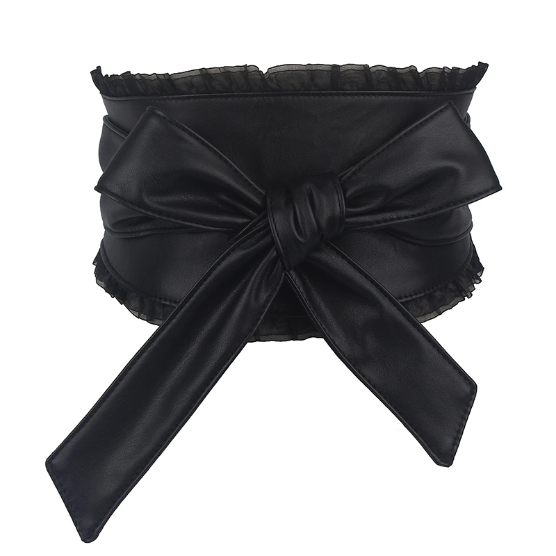 2020 All-match Drawstring Corset Belt Trendy High Fashion Belts For Women Solid Belt New Design Stylish Waistband Female ZK930