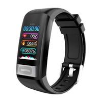C20S Smart Band ECG Blood Pressure Heart Rate Monitor Smart Bracelet Waterproof Sport Watch Activity Fitness Tracker Wristband