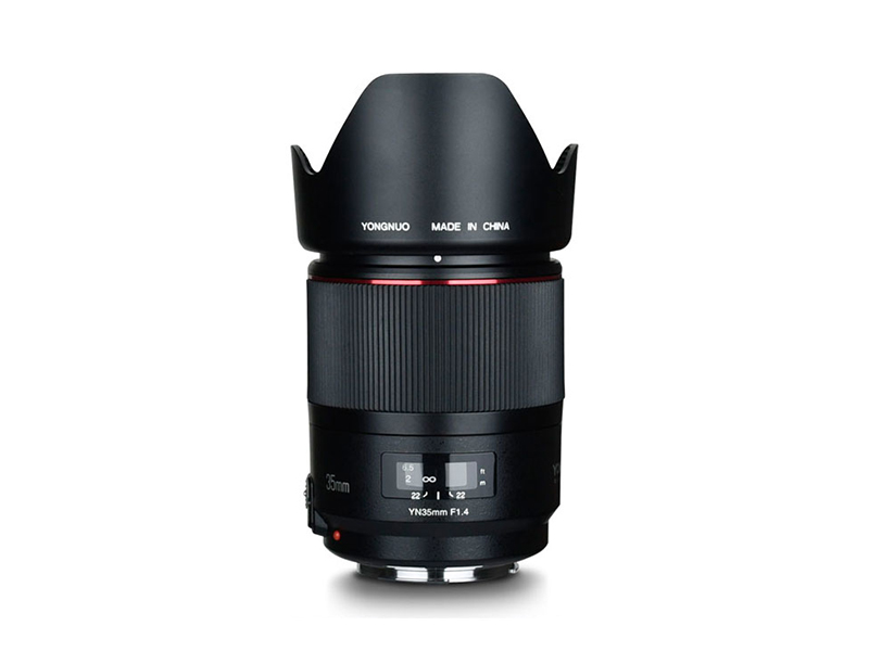 YONGNUO YN35mm F1.4 objectif grand Angle objectif plein cadre lentille pour Canon DSLR caméras 70D 80D 5D3 MARK II 5D2 5D4 600D 7D2 6D 5D