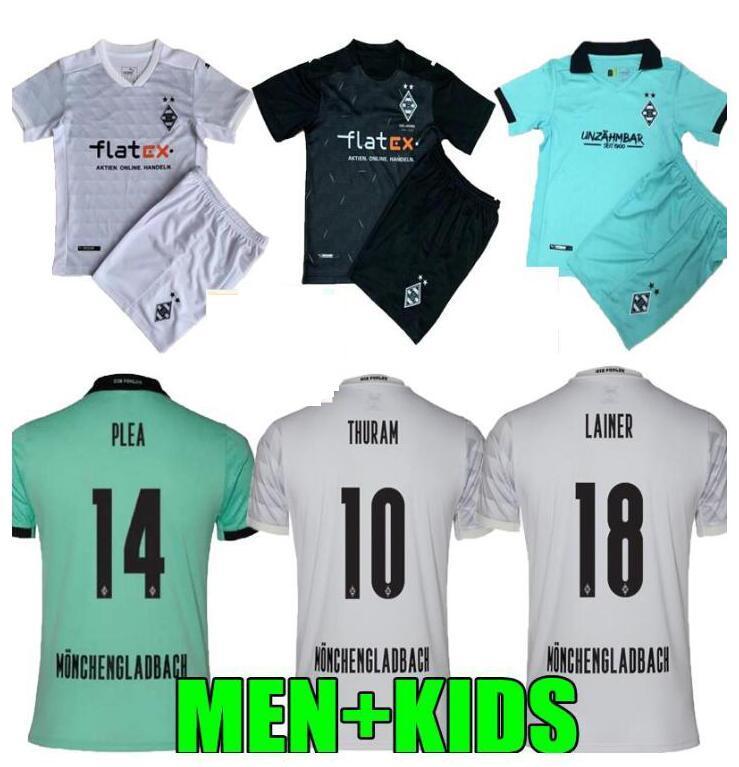 Men Kids Kit 20 21 Monchengladbach Soccer Jersey120th Anniversary Gladbach 2021 Monchengladbach Thuram Plea Borussia Shirts T Shirts Aliexpress