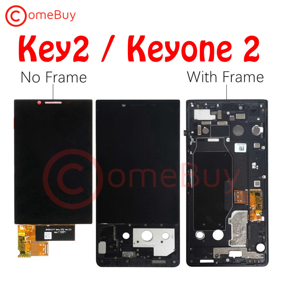 """For 4.5"""" BlackBerry Key2 LCD Display Touch Screen Digitizer With Frame For BlackBerry Key2 LCD Keyone 2 KeyTwo Screen Replace(China)"""