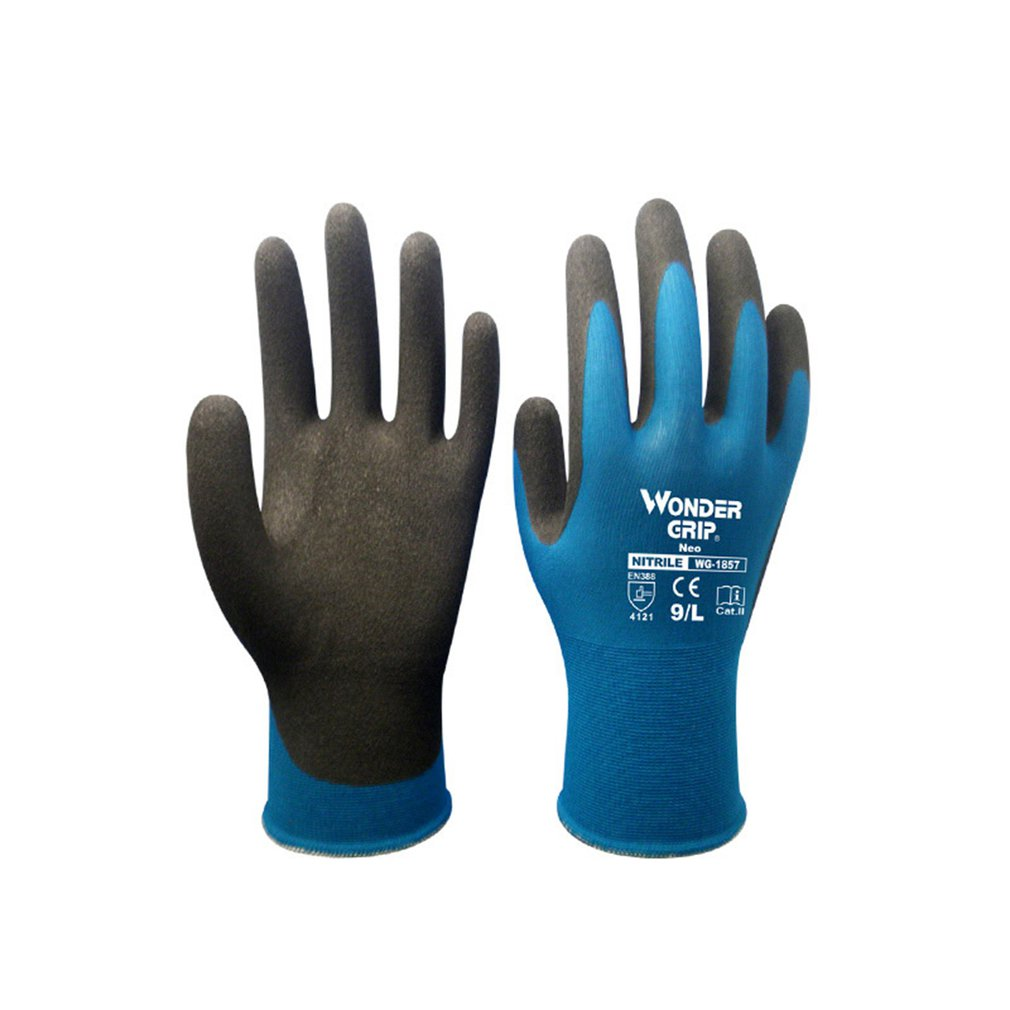WG-1857 Universial Anti-cut Gloves Safety Cut Proof Stab Resistant Metal Mesh Kitchen Butcher Cut-resistant Safety Gloves LESHP