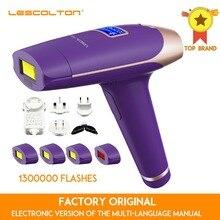 Lescolton 1300000 مرات 5in1 IPL إزالة الشعر الدائم مع شاشة الكريستال السائل آلة الليزر ل Boay بيكيني الوجه تحت الإبط