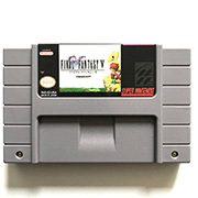 Image 2 - FF V  with box for snes game cartridge