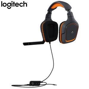 Image 5 - Logitech G231 סטריאו משחקי אוזניות מיקרופון מבטל רעשי מיקרופון על כבל 3.5mm עבור וידאו משחק דינמי אוזניות