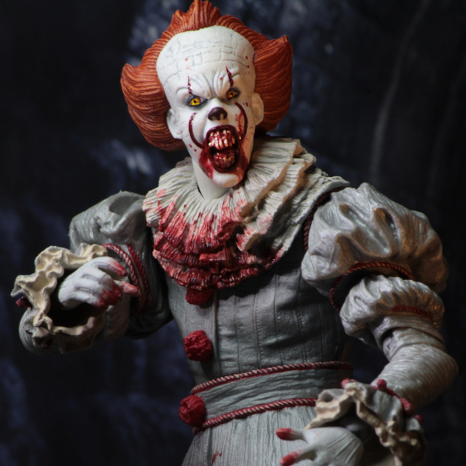 Image 5 - Tronzo  Action  Figure  NECA  IT  Pennywise  Figure 18cm  IT Clown Model Collection Decor For Halloween Gift-in Action & Toy Figures from Toys & Hobbies