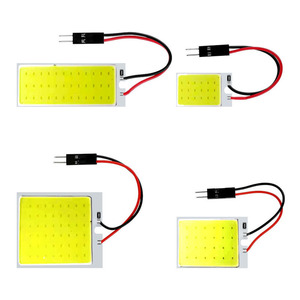 1 шт. гирлянда светодиодный COB лампы сигнала 31 мм 36 мм/39 мм/41/42 мм C5W 168 салона Лампы для чтения T10 Белый купол фонарь освещения номерного знака