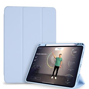 Dla iPad piórniki Funda iPad Pro 12 9 etui 2021 iPad Pro 11 etui 2020 iPad Air 4 etui Pro 12 9 5 M1 Pro 11 3 Okładka tanie i dobre opinie HAIMAITONG Powłoka ochronna skóry CN (pochodzenie) Stałe Dla apple ipad ipad pro 11 cali BIZNESOWY wodoodporne odporne na wstrząsy
