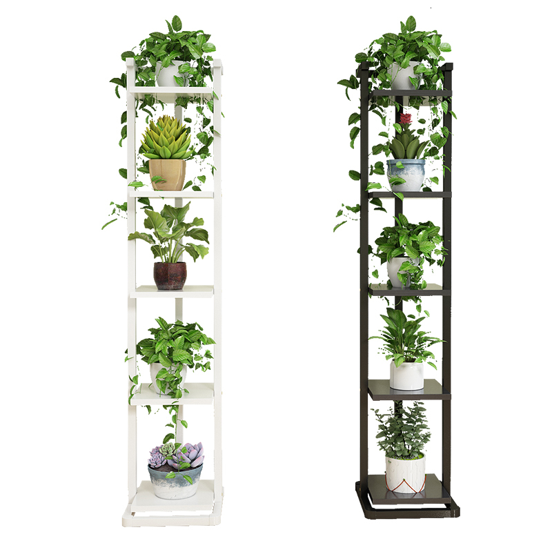Multi-storey Indoor Many Function Hanging Basket Meaty Green Luo Shelves Province Space Iron Art Decorate Ground Flower Rack
