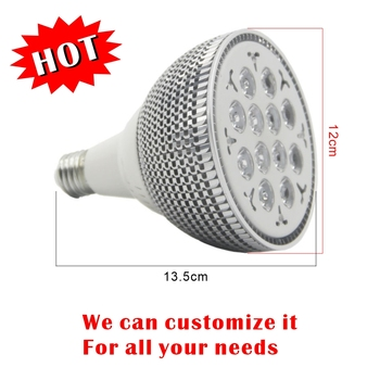 660nm 850nm 24W Red LED Therapy Light E27 LED Red Lamp Pain Relief For Skin rejuvenation Anti-Aging