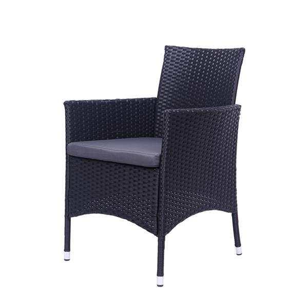 Backrest Chairs Rattan Sofa Set