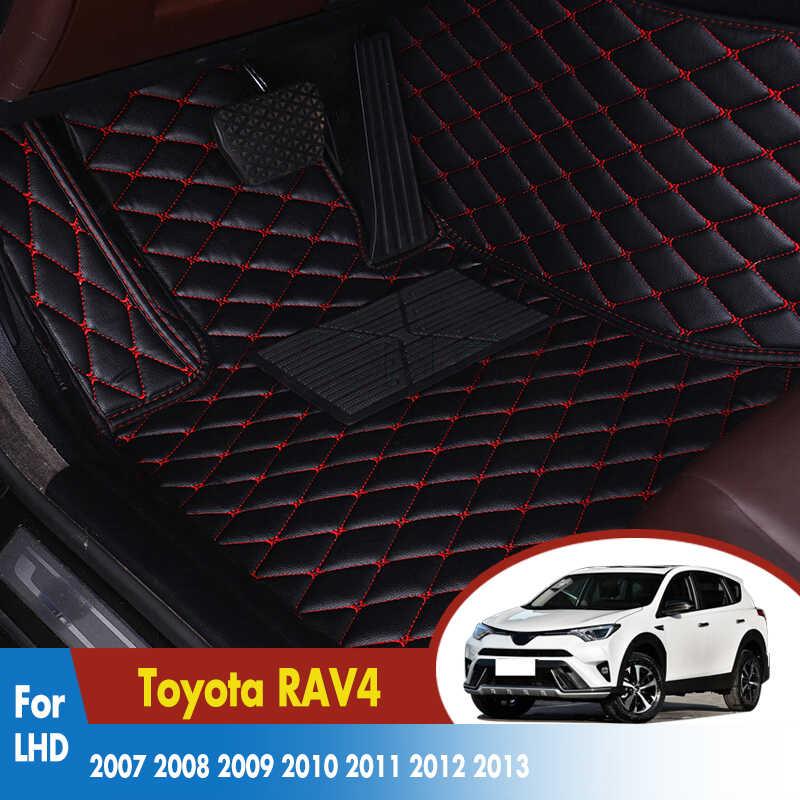 TOYOTA PRIUS 2009-2012 TAILORED CAR FLOOR MATS CARPET BLACK MAT BLACK TRIM