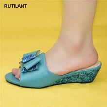 New Arrival buty ślubne damskie Rhinestone eleganckie włoskie damskie wysokiej jakości buty ślubne afrykańskie sandały damskie na obcasach