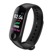 M3 Smart Wristband Bracelet Activity Tracker Band Heart Rate Fitness Watch for Men Women