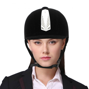 Horse Riding Helmet Kids Children Men Women Equestrian Horseback Riding Cap Hat Helmet Rider Heads Body Protectors Equipment safety horse riding helmet for riding horse helmet portable equestrian helmet 53 64cm