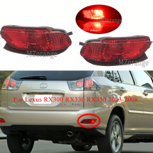 1PCS LED Rear Brake Lights Bumper Reflector Light For Lexus RX300 RX330 RX350 2003-2008 Tail Fog Lamp Warning Light Tail Stop mzorange 2pcs led rear bumper reflector light tail brake stop drl fog light lamp for toyota land cruiser for lexus lx470 lantern
