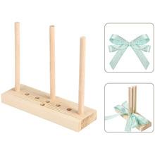 Bow Maker per nastro strumento per la creazione di fiocchi per ghirlande in legno per la creazione di fiocchi regalo decorazioni per feste fiocchi per capelli corpetti ghirlande natalizie cheap CN (Origine) OT0529