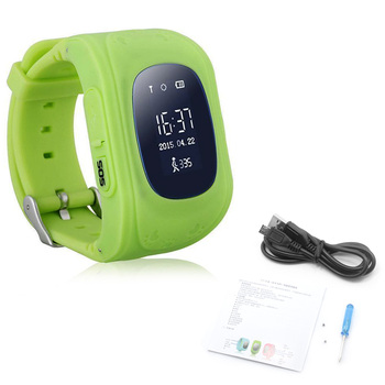 Q50 Children Safety Tracker Kids Anti-lost Smart Phone GPS Watch For Android/IOS 19QC voberry smart watch kids gps tracker watch phone for children with gps gsm wifi positioning phone android