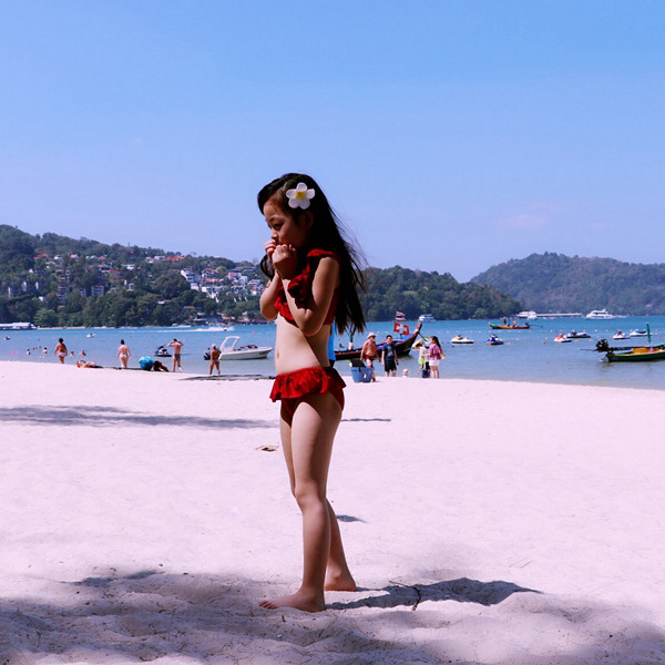 Korean-style KID'S Swimwear GIRL'S Girls Baby Bikini Kids Split Type Tour Bathing Suit 1-3 Years Old-10-Year-Old Swimwear