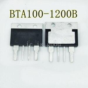 Image 1 - 2PCS 10PCS BTA100 1200B BTA1001200B BTA100 BTA100A 1200B 100A 1200V new and good quality