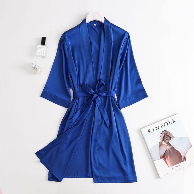 Robe de femmes chinoises rayonne broderie mariée demoiselle dhonneur Kimono Robe de peignoir Sexy Mini chemise de nuit de sommeil vêtements de nuit Robes de mariée