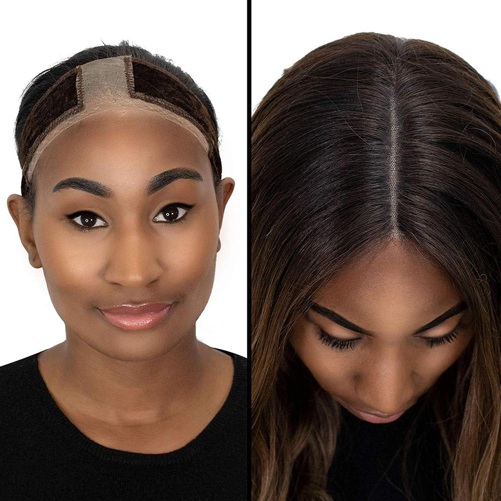 Hot Non-slip Adjustable Soft Velvet Women Lace Wig Grips Headband Hair Scarf Band