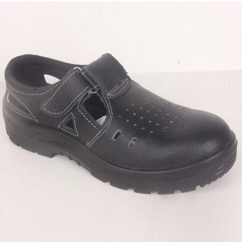 Supply Summer Safety Shoes Polyurethane Pu Solid Bottom Safety Shoes Smashing Anti Puncture Oil Resistant Acid-base Wear-Resista