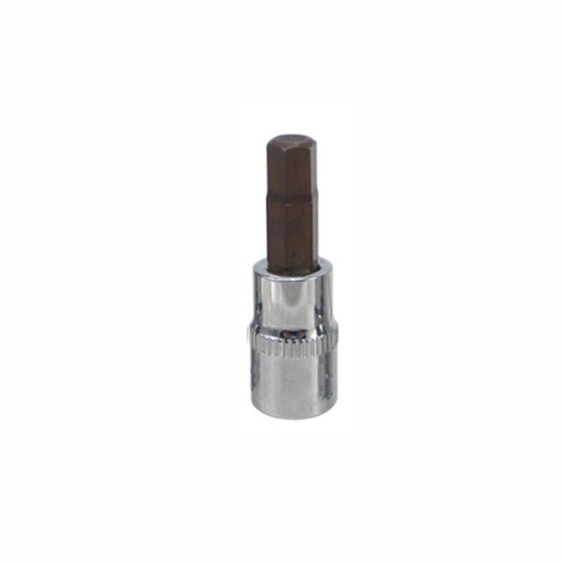 37mm 1/4 Dr Hex Allen Key Bit Socket Tools Factory Shop Repair H2mm/2.5-7mm