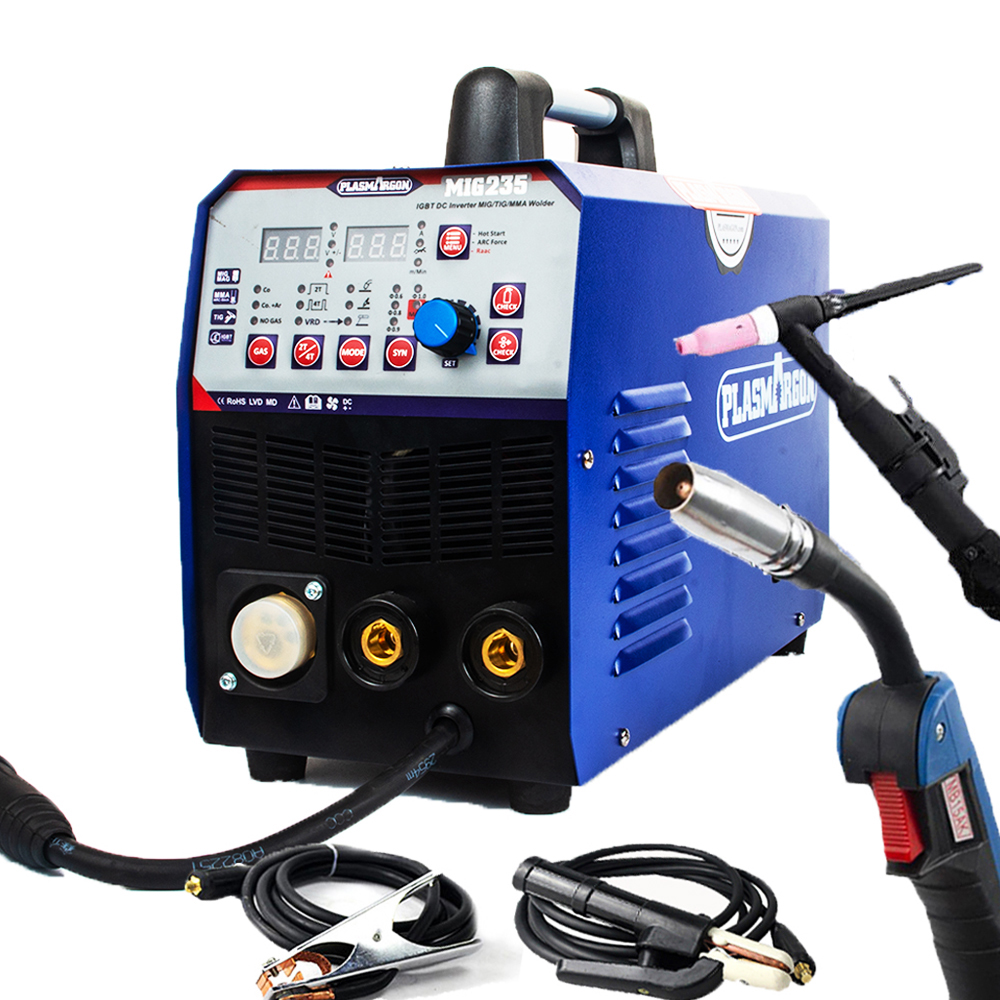 3IN1 Combo TIG / MMA / MIG Welding Machine  Multi-Function Welding 220V & Torchs