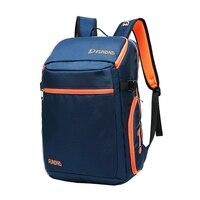 Portable Sports Tennis Backpack Shoe Storage Squash Badminton Racket Bag Large Capacity 1 3 Rackets Tennis Bags Polyester Fabric