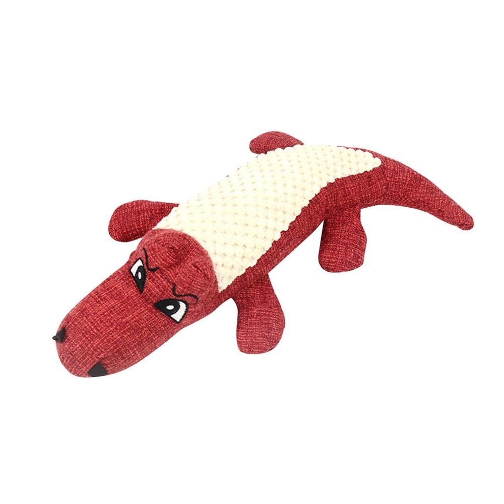 Быстрая доставка, новинка 2020, игрушка для собак, льняная плюшевая игрушка для животных, жевательная игрушка для собак, пищалка, шумовая игрушка для чистки зубов, товары для жевания-1