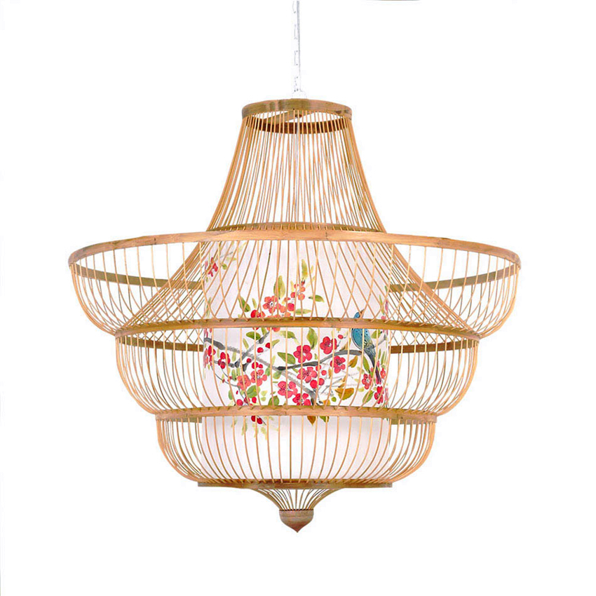 Modern Wood Pendant Lights Lighting Norbic Home Decor Bamboo Weaving Wooden Pendant Lamps Kitchen Fixtures Luminaire Suspension