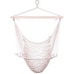 Bawełna wisząca lina powietrzna/niebo krzesło huśtawka beżowa