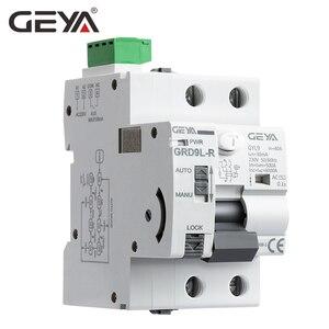 Image 2 - GEYA 6KA ELCB RCCB 2P Automatic Reclosing Device Remote Control Circuit Breaker Recloser RCD 40A 63A 30mA